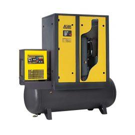 SPRĘŻARKA ŚRUBOWA COMPRAG ARD11-270  11 KW 1 600 L/MIN 8 – 13 BAR 270 L Z OSUSZACZEM