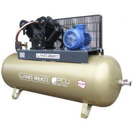 Kompresor tłokowy PCU 500-2180 + oczyszczarka SBM-38-12 z osprzętem